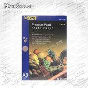 کاغذ گلاسه مات Premium Satin Photo Paper A3 260gr BITONE